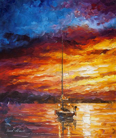 color waves color waves palette knife painting on canvas by