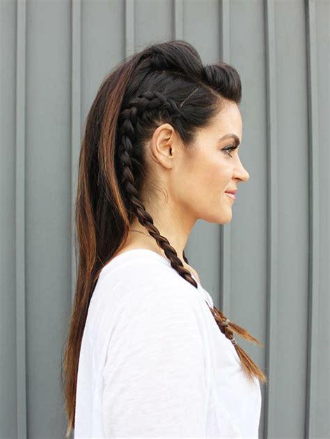 tutos   inspirants pour une coiffure viking