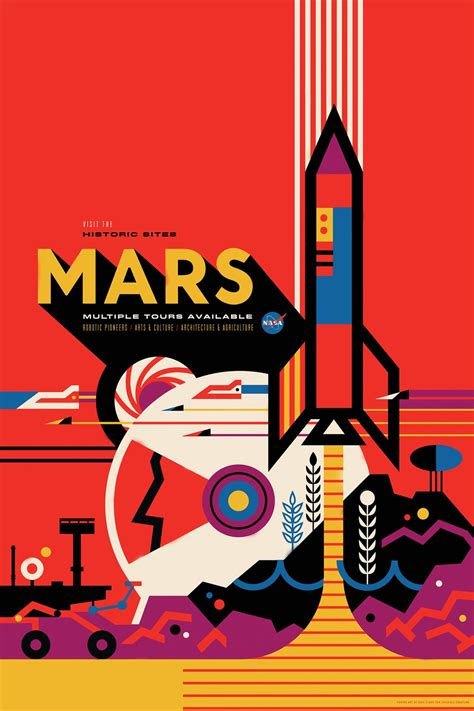 NASA's retro space travel posters are out of this world ...