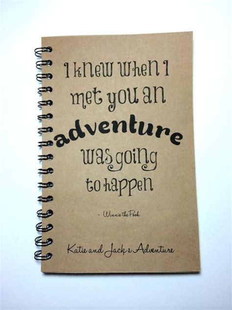 adventure notebook winnie  pooh quote adventure book