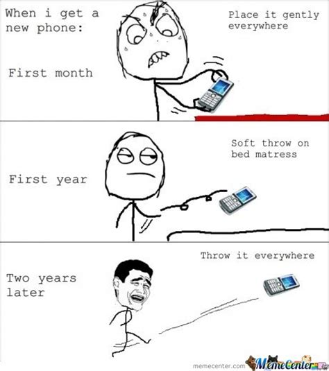 New Phone Meme - when i get a new phone by mustapan meme center
