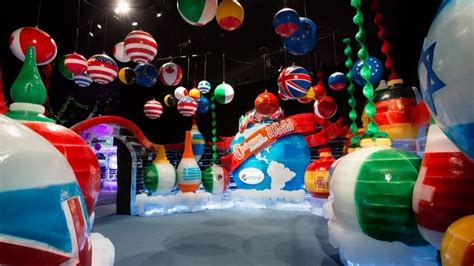 gaylord palms ice exhibit   global celebrations