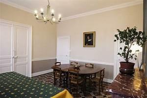 couleur de peinture pour salon salle a manger tendance et With salle À manger contemporaine avec cuisine blanche et noire quelle couleur pour les murs