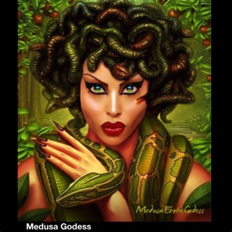 Beautiful Medusa Greek Goddesses Pictures To Pin On