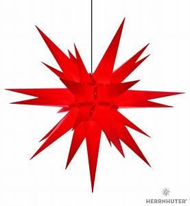 Herrnhuter Stern Beleuchtung : herrnhuter stern a13 rot kunststoff 130 cm von ~ Michelbontemps.com Haus und Dekorationen