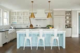 blue kitchen island light blue kitchen island cottage kitchen