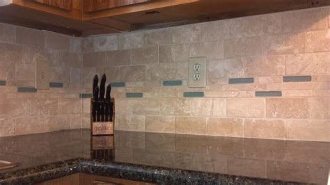 travertine kitchen backsplash tile backsplash and glass and travertine tile