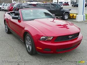 2010 Ford Mustang V6 Premium Convertible in Red Candy Metallic photo #6 - 166921   NYSportsCars ...