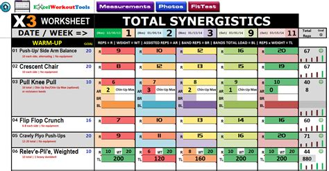 px workout sheets total synergistics eoua blog
