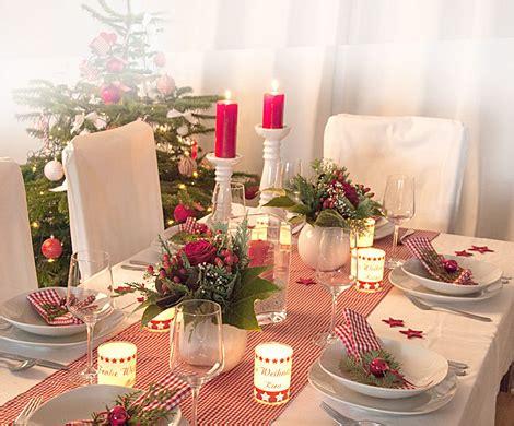 deine festliche weihnachtstafel tisch weihnachtlich