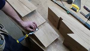 Timber Framing Scarf Joint - YouTube