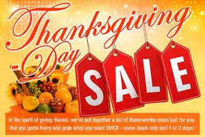 newegg thanksgiving day sale