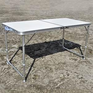 Gartentisch Klappbar Alu : campingtisch klappbar alu h heinstellbar gartentisch ~ Orissabook.com Haus und Dekorationen
