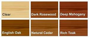 Oak Wood Stain Color Chart Ronseal Hardwood Furniture Stain Ronseal Garden