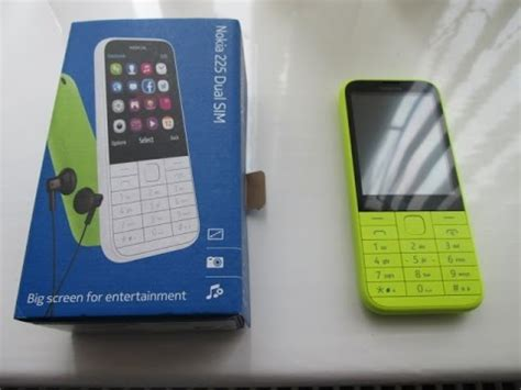 nokia 2014 mobile nokia 225 dual sim mobile phone cell phone review new
