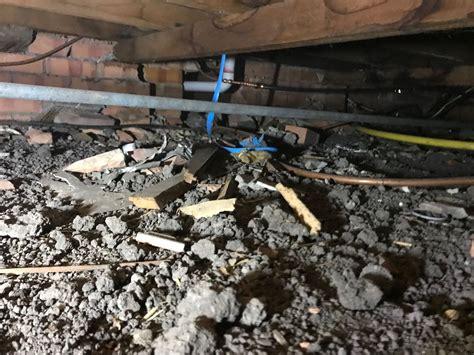 asbestos removal eaves asbestos debris  house