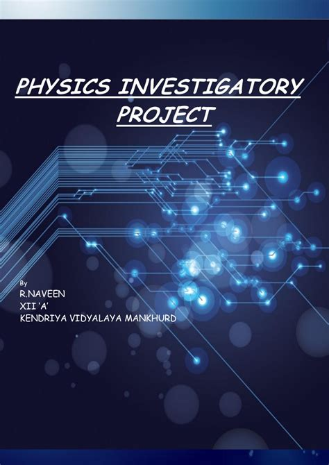 physics investigatory project  rectifier