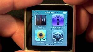 Apple iPod nano 2010 (6th Generation): Unboxing and Demo ...