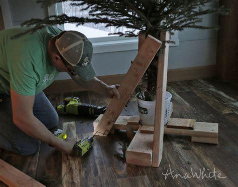 diy heavy duty christmas tree stands heavy duty tree stand white