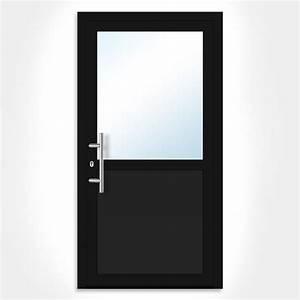 revgercom porte dentree pas cher alu idee inspirante With porte d entrée pvc avec meuble salle de bain vasque en verre