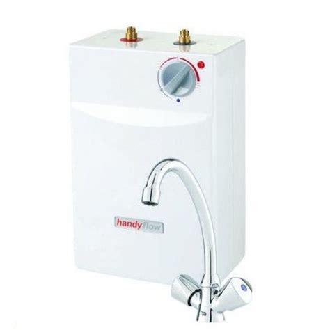 under sink water boiler handyflow slimline 5 litres under sink vented water heater