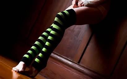Knee Legs Highs Socks Wallpapers Desktop Background