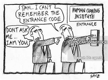 Cloning Human Cartoon Cartoons Funny Genetic Engineering