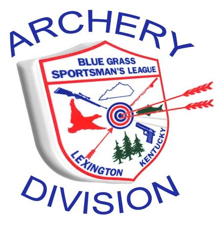 archery logo blue grass sportsmens league