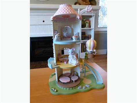 Calico Critters Baby Bathroom Set by Calico Critters Windmill Baby Playhouse Bathroom Oak Bay