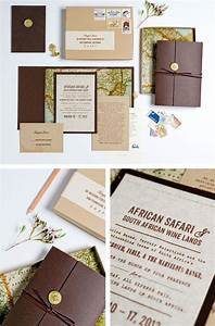 exclusive african safari invitation maybe a little high With wedding invitation boxes south africa