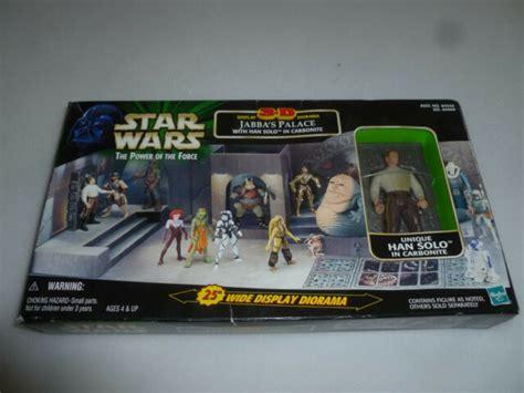 NEW IN BOX STAR WARS POTF 3-D DIORAMA JABBA'S PALACE WITH ...