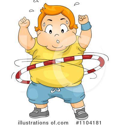 child obesity clipart  illustration  bnp