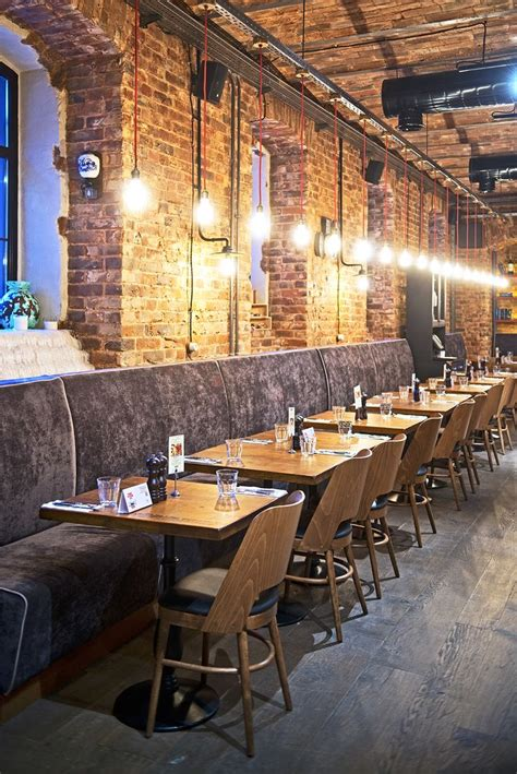Exposed Brick  Restaurant Design  Pinterest Restaurant