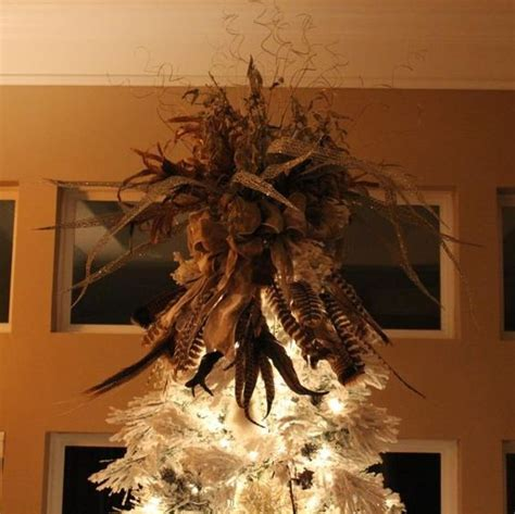 feather christmas tree topper best ideas about tree s unique and favorite on