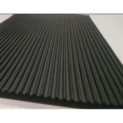 ideal 1m black fine rib rubber matting sheet bunnings