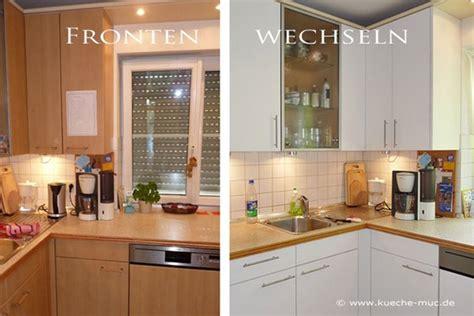 Neue Fronten Für Küche by K 252 Che Fronten Erneuern K 252 Chenschrankt 252 Ren Neu