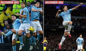 Samir Nasri was blasted for flapping a leg Manchester ...