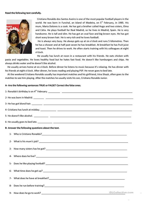 test  grade worksheet  esl printable worksheets
