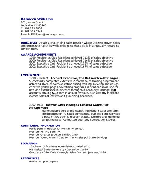 Objective For Resume Example  Edit, Fill, Sign Online