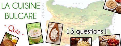 quiz sur la cuisine bulgare niveau difficile