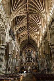 Exeter Cathedral England