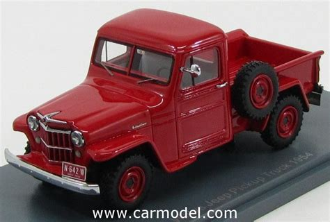 jeep willys truck pick   scale models jeep model
