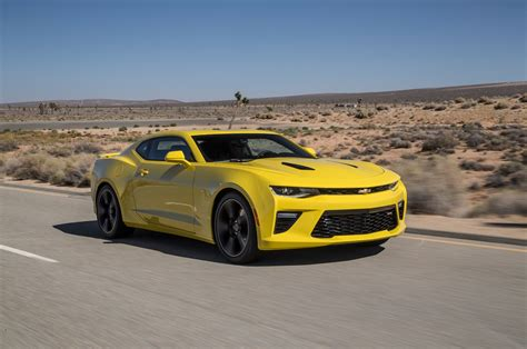 2018 Chevrolet Camaro Ss First Test Motor Trend