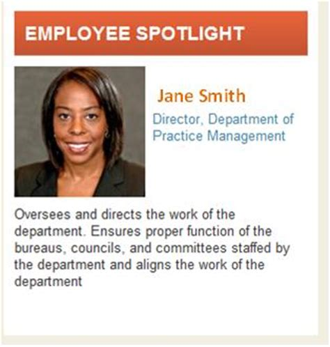 employee spotlight template intranet user adoption sharepoint