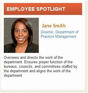 16 images of spotlight employee recognition template With employee biography template