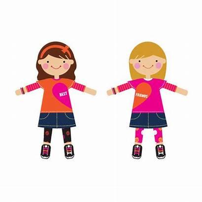 Friends Clipart Friend Dolls Clip Cliparts Doll