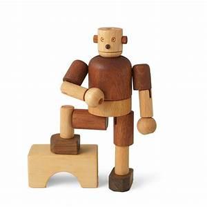 Leo & Bella Soopsori Wooden Robot