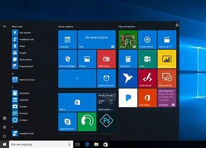 Windows Start Update Creators Menu App Introduce