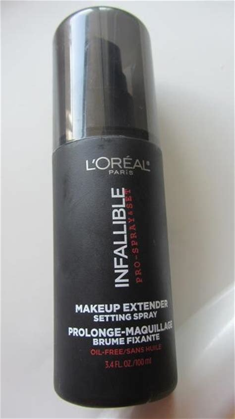 Harga Setting Spray Loreal l oreal infallible makeup extender setting spray review