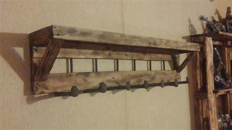 coat rack with shelf pallet coat rack with shelf 1001 pallets